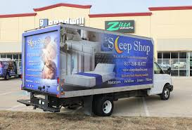 Sleep Shop Box Truck Wrap - One Great Way To Advertise Your ...