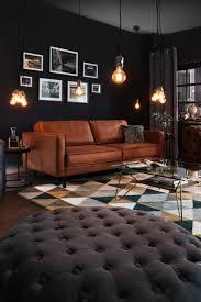stylische wohnzimmer ideen im club lounge stil wohnzimmer