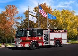 100 Pierce Trucks Morgantown Fire Department 30077 Finley Fire Equipment Co Inc