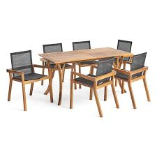 Amusing 6 Seater Dining Table And Chairs Wood Childrens For ...