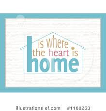 Home Is Where The Heart Clipart 1160253