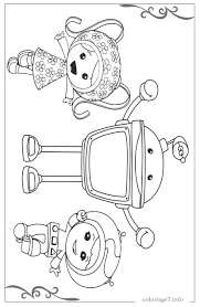 Timely Printable Colouring Pictures Team Umizoomi Coloring Pages