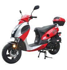 Brand New 149cc Scooter Moped 55MPH 80MPG Powermax 150 Free Trunk S H