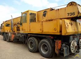 Clark 736 40-ton Telescopic Truck Crane For Sale & Material Handlers ...