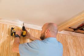 Hanging Drywall On Ceiling by How To Install Coffered Ceilings Wood Naturally