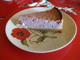 quark frischkäse kuchen mit himbeeren