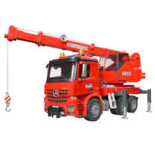 Bruder - 03670 | Construction: MB Acrocs Crane Truck With Lights And ... Bruder Man Fire Engine With Water Pump Light Sound For Our Mb Sprinter With Ladder And Tgs Tank Truck Buy At Bruderstorech Toys Mercedes Benz Ladderlights Man Water Pump Light Sound The 02480 Unimog Wth Amazoncouk Slewing Laddwater Pumplightssounds Mack Truck Minds Alive Crafts Books Super Bundling Big Sale 12 In Indonesia Facebook Bruder Land Rover Defender Preassembled Engine Model 116 Jeep Rubicon Rescue Fireman Vehicle Set