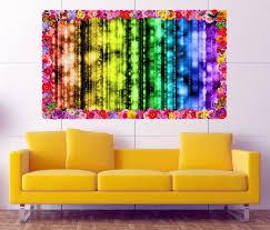 3d wandtattoo abstrakt hintergrund moderne kunst blumen rahmen wandbild wohnzimmer wand aufkleber 11l747 wandtattoos und leinwandbilder