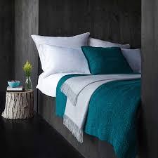 Tagesdecke Teba Teal Blue BedroomsDark