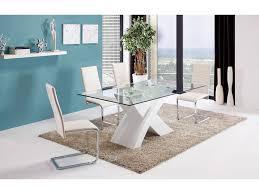 pied de le blanc table en verre pied blanc meilleures ventes boutique pour les