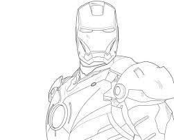 10 Iron Man Coloring Pages