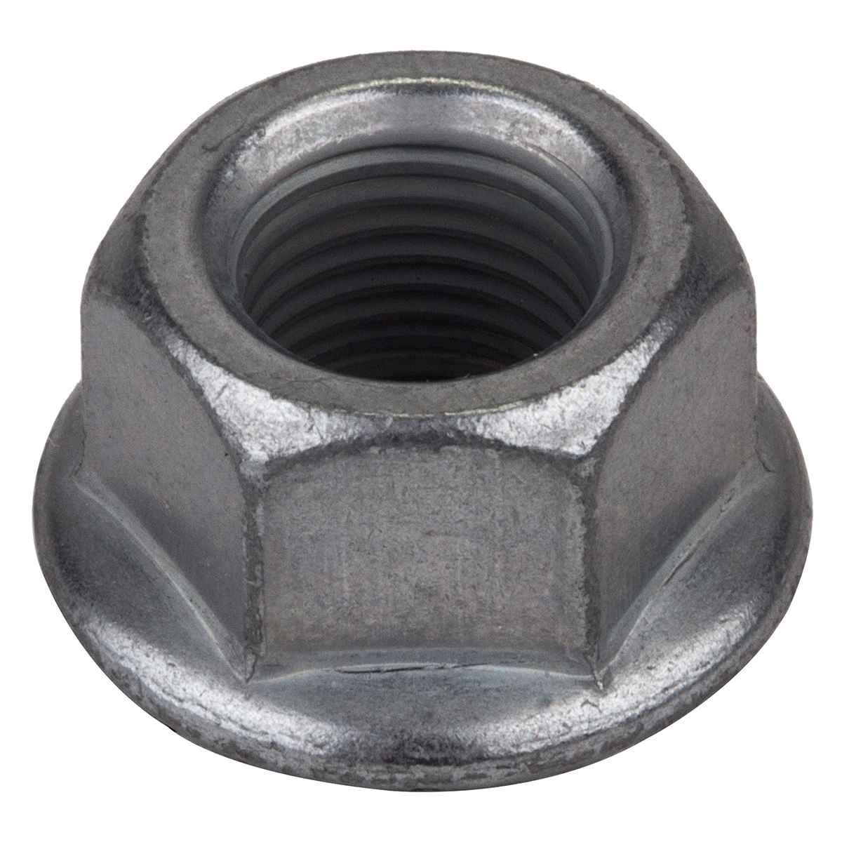 "Sunlite Bicycle Hub Axle Nut - Flanged Grey, 3/8"", 50pk"