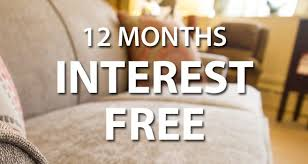 0 financing and 12 months interest free ebert furniture