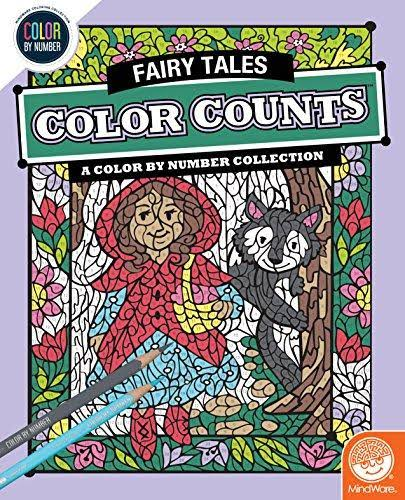 MindWare Color by Number Color Counts (Fairy Tales)