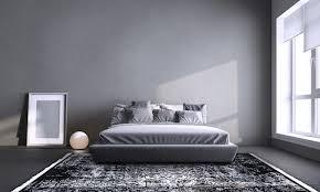 orientteppiche in moderner skandinavischer minimalistischer