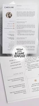 50 Best Resume Templates For 2018   Design   Graphic Design ... Resume Template Alexandra Carr 17 Ways To Make Your Fit On One Page Findspark Sample Resume Format For Fresh Graduates Onepage The Difference Between A And Curriculum Vitae Best Free Creative Templates Of 2019 Guide Two Format Examples 018 11 Or How Many Pages Should Be A Powerful One Page Example You Can Use Write Killer Software Eeering Rsum Onepage 15 Download Use Now