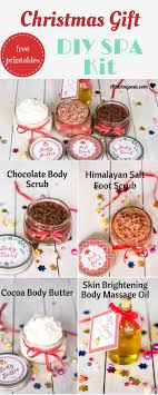 DIY All Natural Spa Kit For Perfect Gift