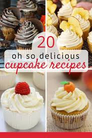 20 Amazing Cupcake Recipes From Scratch