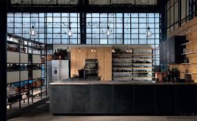 cuisine industrielle cuisine style industriel le métal