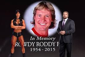 Chyna And Triple H In Awkward Reunion At Roddy Piper Funeral