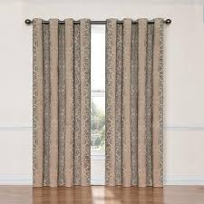 Curtains With Grommets Pattern by Amazon Com Eclipse Nadya Grommet Room Darkening Window Curtain