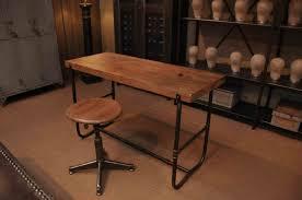 bureau industriel metal et metal industriel en best bureau bois fer console images