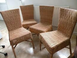 chaises en osier chaise en osier great dtail de luarticle intitul chaises osier with