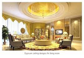 Sitting Room Gypsum Ceiling Designs White For Living Ideas