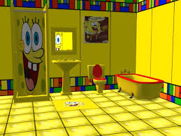 mod the sims spongebob bath set