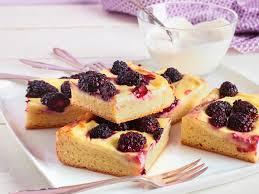 brombeer pudding kuchen weniger zucker