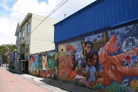Balmy Street Murals Address by Exploring The Mission San Francisco
