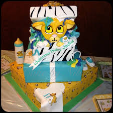 Baby Shower Baby Simba Cake I Made For My Daughter Baby Shower