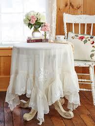 100 Desjardins Elegance Poetic Embroidered Topper Cloth