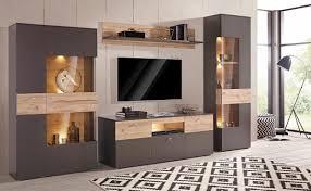 forte vitrine höhe 168 cm inkl beleuchtung otto tv