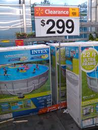 Above Ground Swimming Pool Prices At Walmart Slashed In Half Or More I Bought Mine The Beginning Of Season Kicking Myself Now