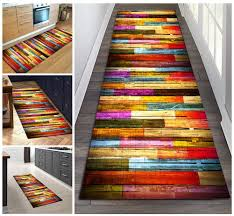 color color 2 filjr teppich läufer flur bunt rutschfest