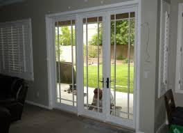 Dog Doors For Glass Patio Doors by 100 3 Panel Patio Door Cafeden Window Craftsman 3 Panel