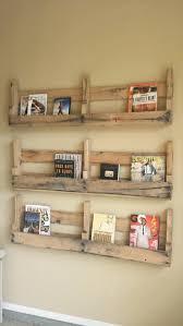 Shelves Made From Pallets Pallet Crate Shelves Bathroom Shelves