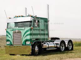 Old Kenworth Cabover Truck Semi Cars