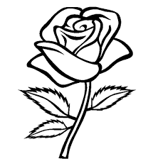 Free Printable Rose Coloring Pages 19