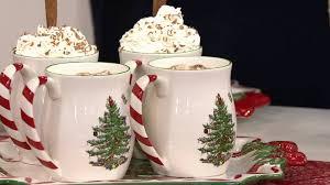 Qvc Christmas Tree Topper by Spode Christmas Tree Mugs Candy Cane Christmas Tree