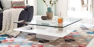 glastisch wohnzimmer design caseconrad