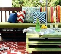 Pallet Porch Furniture Patio Makeover Outdoor Living Painted