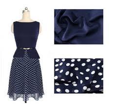 kettymore women wave point waist fastening polka dots bottom dress