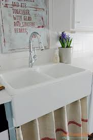 Farmhouse Style Sink by I Should Be Mopping The Floor Farmhouse Sink And Diy Kitchen Art