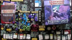 Review By Deskovehry Dungeons And Dragons The Legend Of Drizzt Board Game