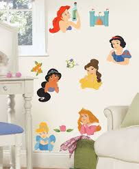 Fathead Princess Wall Decor by Disney Princess Stickers Posed Princesses Wall Decals Obedding Com