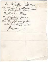 Manuscript Poem Click To Enlarge