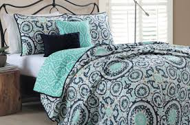 bedding set mint green and grey bedding accommodated blue and