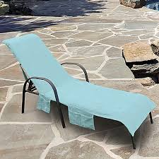 Bed Bath And Beyond Patio Furniture Covers by Ultimate Chaise Lounge Chair Cover With Storage Pockets Bed Bath